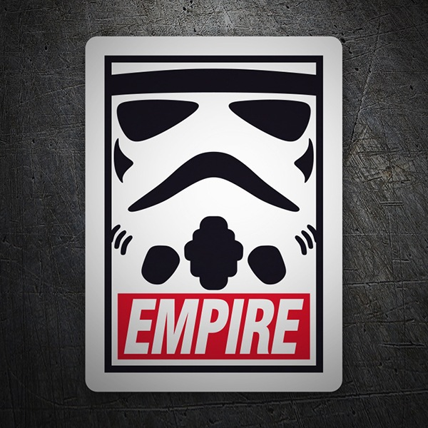 Autocollants: Obey Empire (Star Wars)