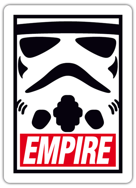 Autocollants: Obey Stormtrooper