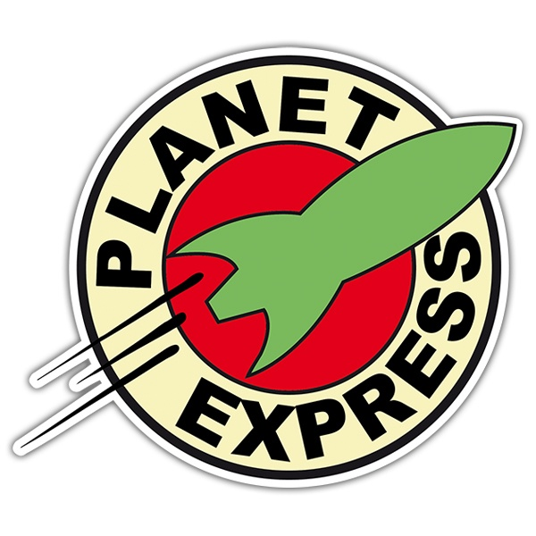 Autocollants: Futurama Planet express