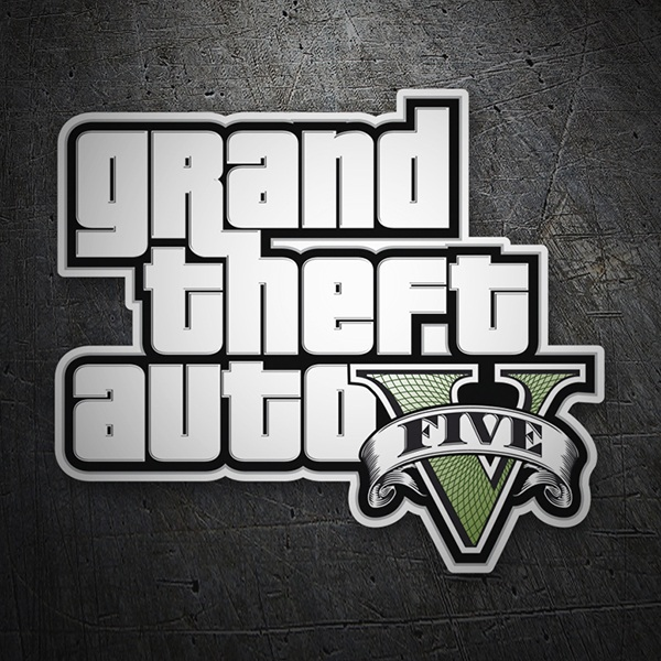Autocollants: Grand theft auto V