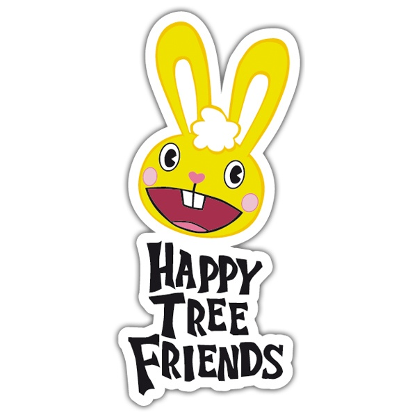 Autocollants: Happy tree friends