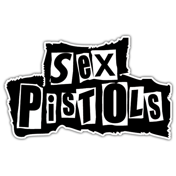 Autocollants: The Sex Pistols