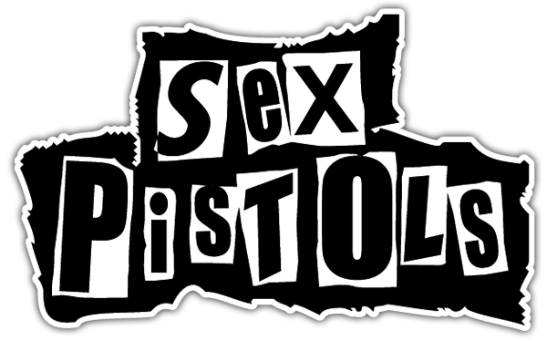 Autocollants: The Sex Pistols 0