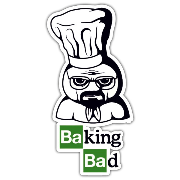 Autocollants: Breaking Bad Pillsbury Doughboy