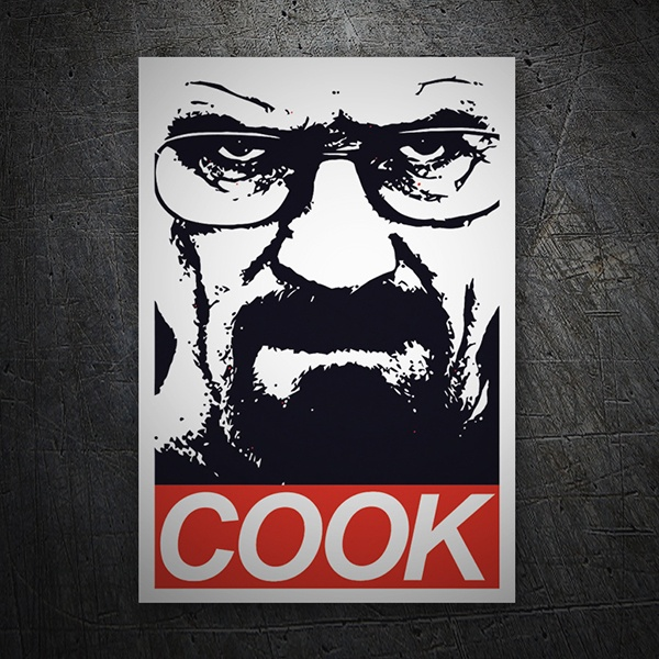 Autocollants: Breaking Bad Cook