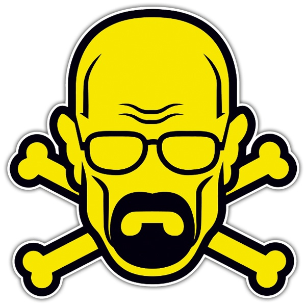 Autocollants: Breaking Bad Pirate