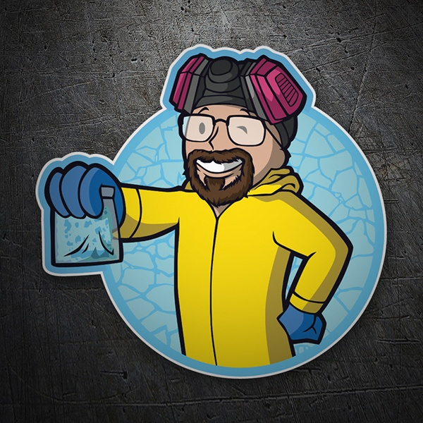Autocollants: Breaking Bad Vault Boy 1