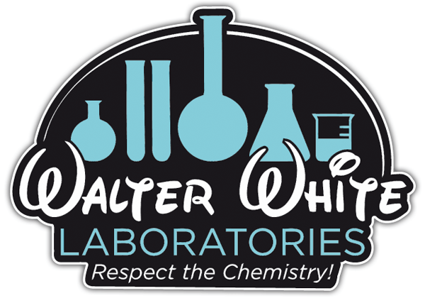 Autocollants: Breaking Bad Walter Disney Laboratories