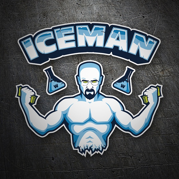 Autocollants: Breaking Bad Iceman