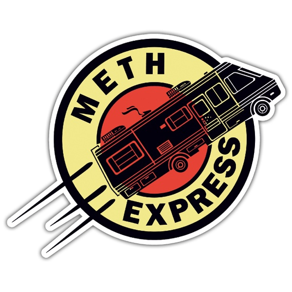 Autocollants: Breaking Bad Express