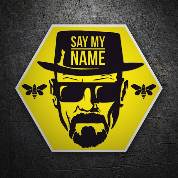 Autocollants: Breaking Bad abeilles