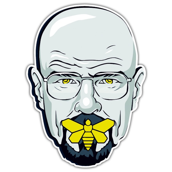 Autocollants: Breaking Bad Silence