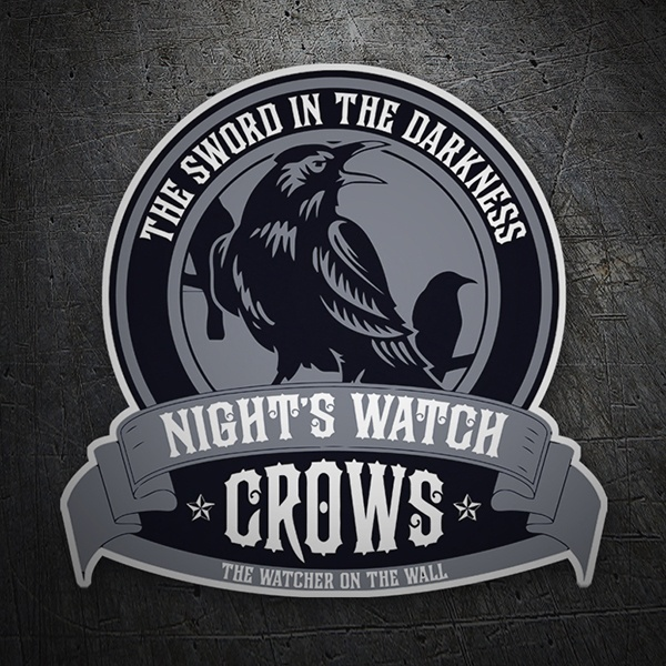 Autocollants: Nights Watch Crows