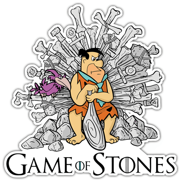 Autocollants: Game of Stones 0
