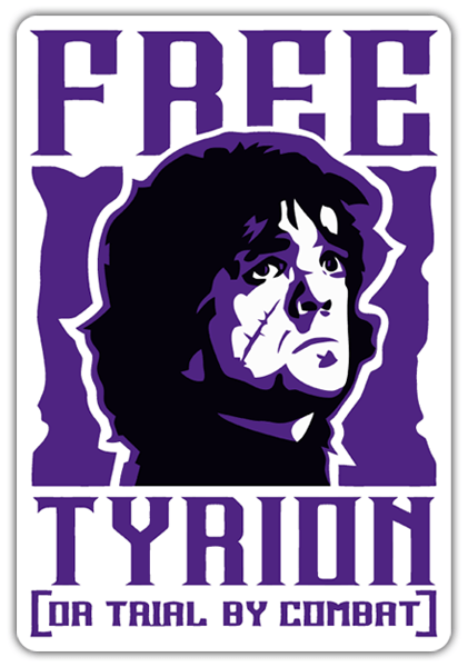 Autocollants: Game of Thrones Free Tyrion