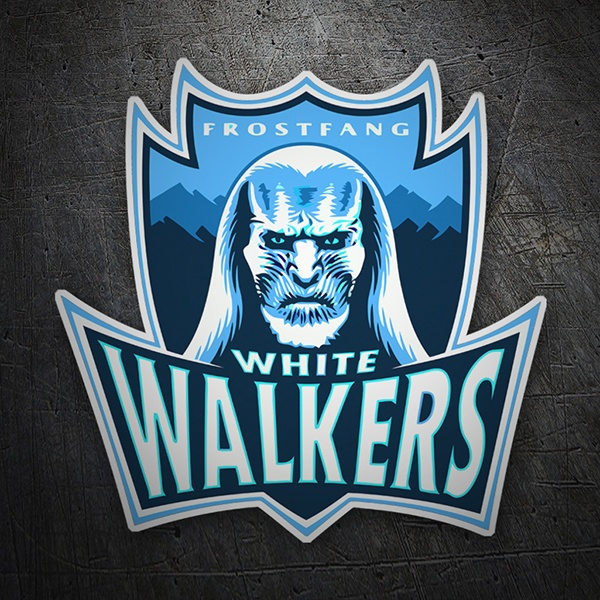 Autocollants: Game of Thrones White Walkers