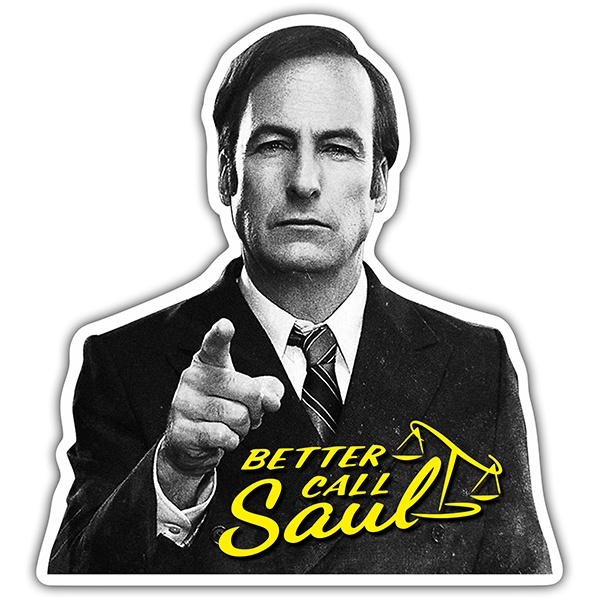 Autocollants: Breaking Bad Better call Saul