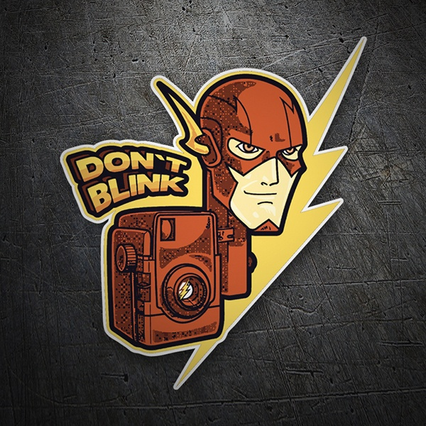 Autocollants: Flash Don´t Blink
