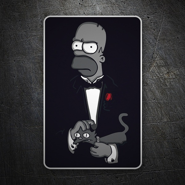 Autocollants: The Godfather Homer