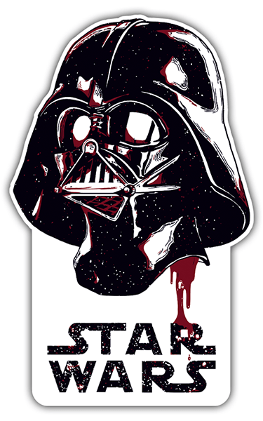 Autocollants: Darth Vader Galaxy