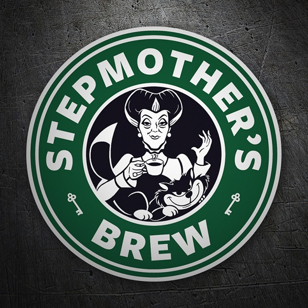 Autocollants: Stepmother Brew
