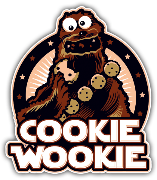 Autocollants: Cookie Wookie