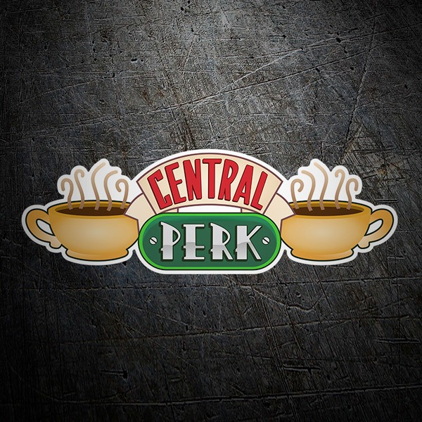 Stickers muraux: Central Perk - Friends