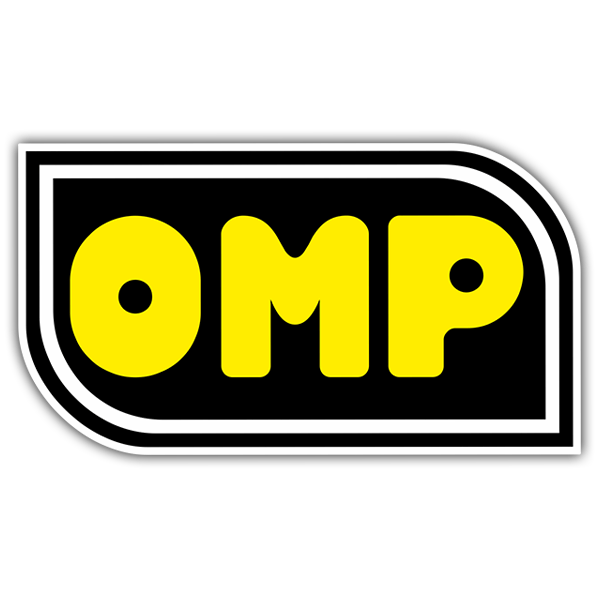 Autocollants: Paroles OMP jaune 0