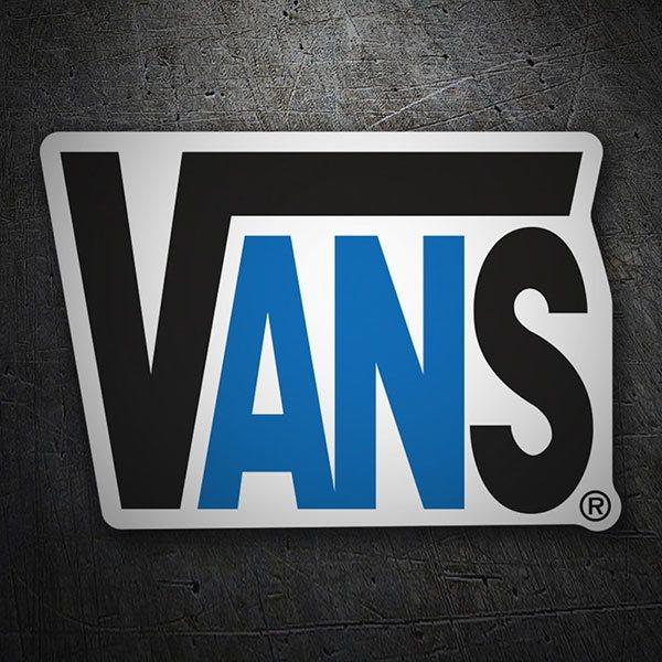 Autocollant Vans Logo |