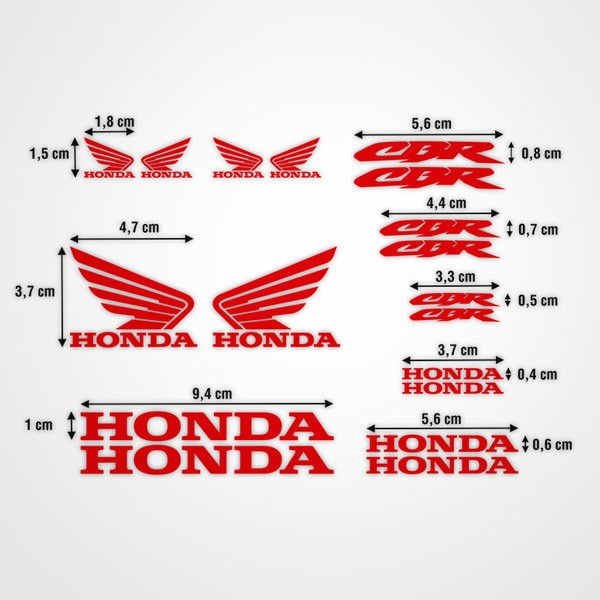 Autocollants: Kit Honda CBR Racing