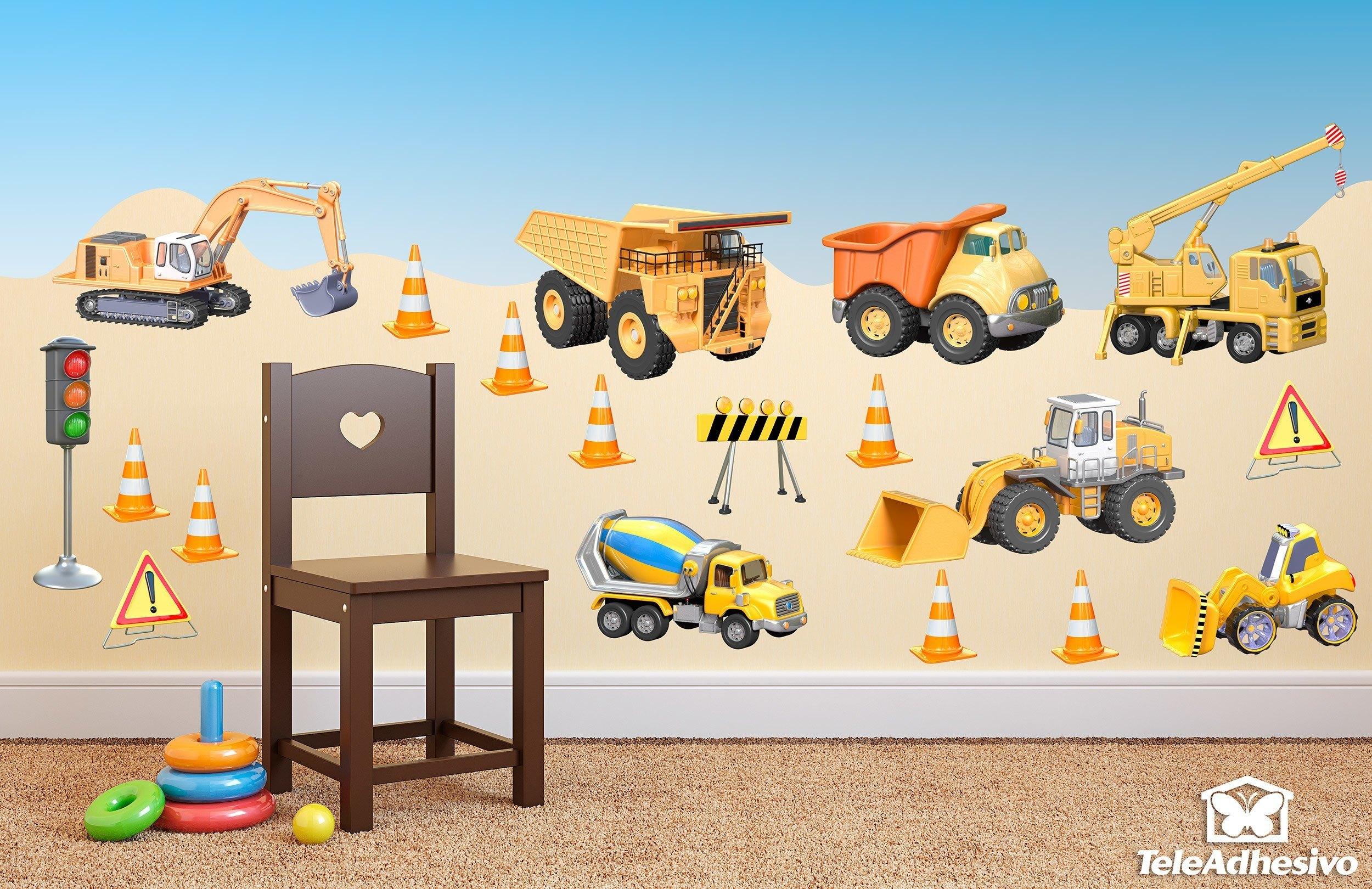 Kit camions de construction