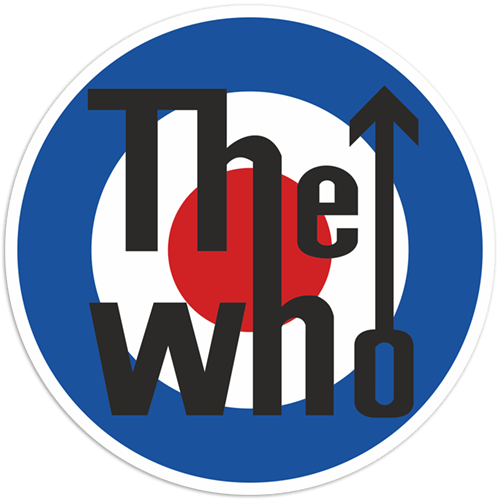 Autocollants: The Who logo