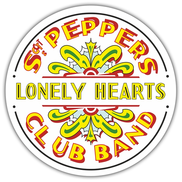Autocollants: Sgt. Pepper's Lonely Hearts Club Band