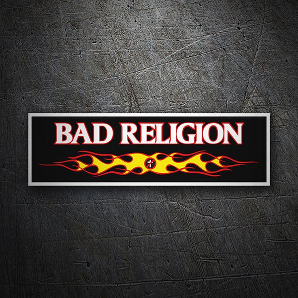 Autocollants: Bad Religion Fire