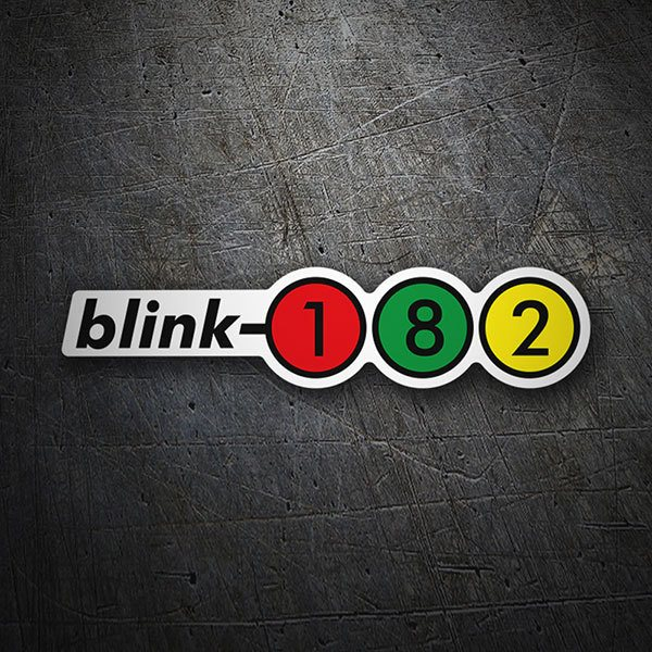 Autocollants: Blink 182 Retro Alternative