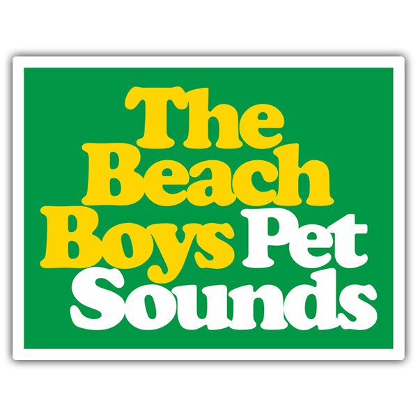 Autocollants: The Beach Boys Pet Sounds