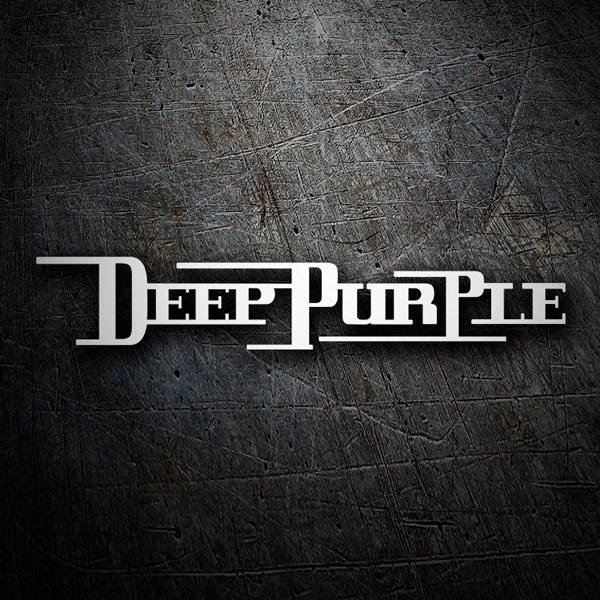 Autocollants: Deep Purple Retro