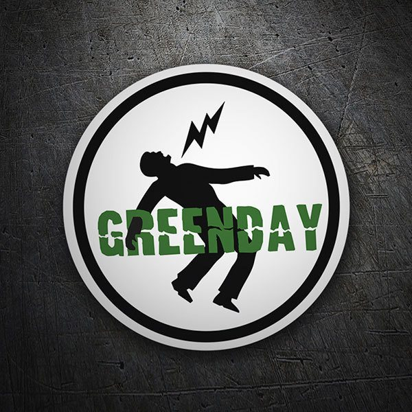 Autocollants: Green Day Danger