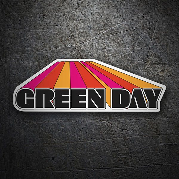 Autocollants: Green Day