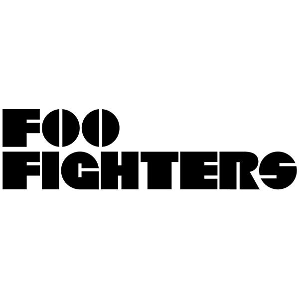 Autocollants: Foo Fighters Classic