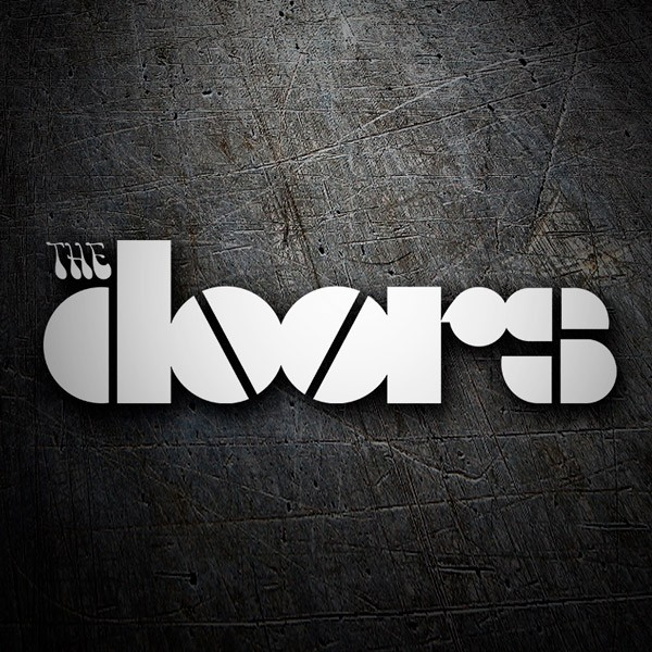 Autocollants: Logo The Doors