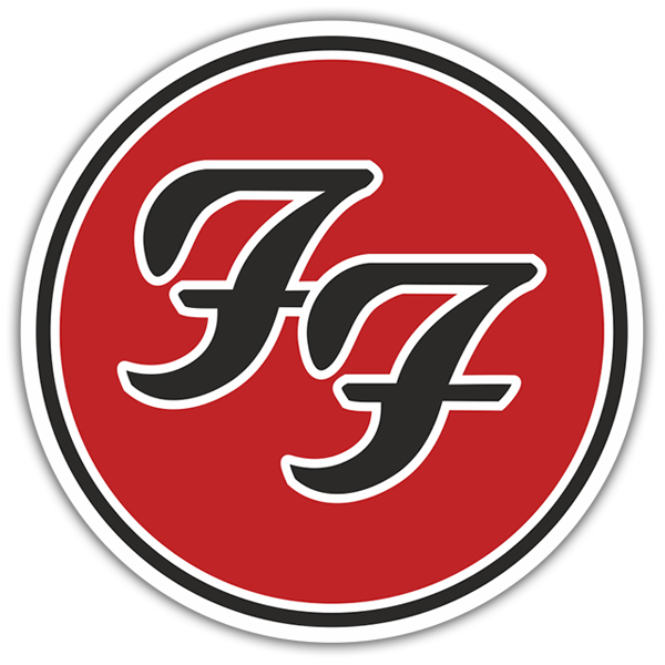 Autocollants: Foo Fighters Logo