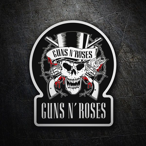 Autocollants: Guns N' Roses Blood