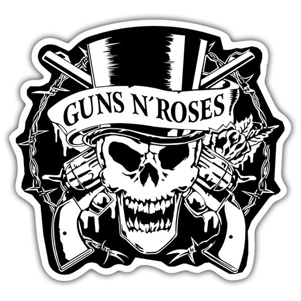 Autocollant Guns N Roses Crane Webstickersmuraux Com