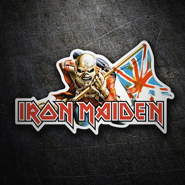 Autocollants: Iron Maiden - The Trooper