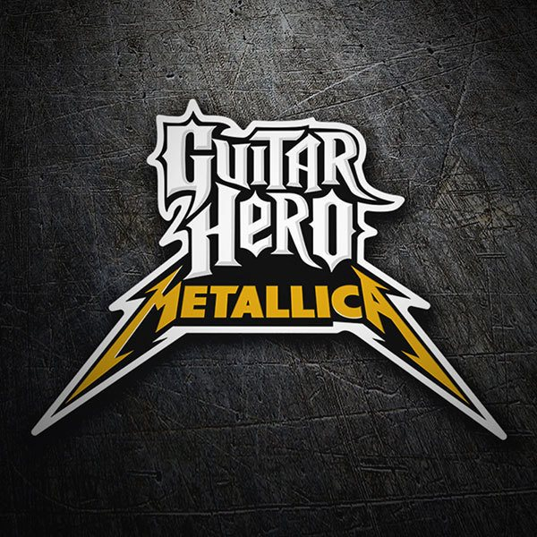Autocollants: Guitar Hero Metallica