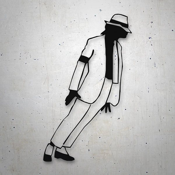 Autocollants: Michael Jackson - Smooth Criminal