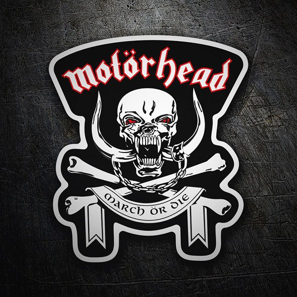 Autocollants: Motörhead March ör Die