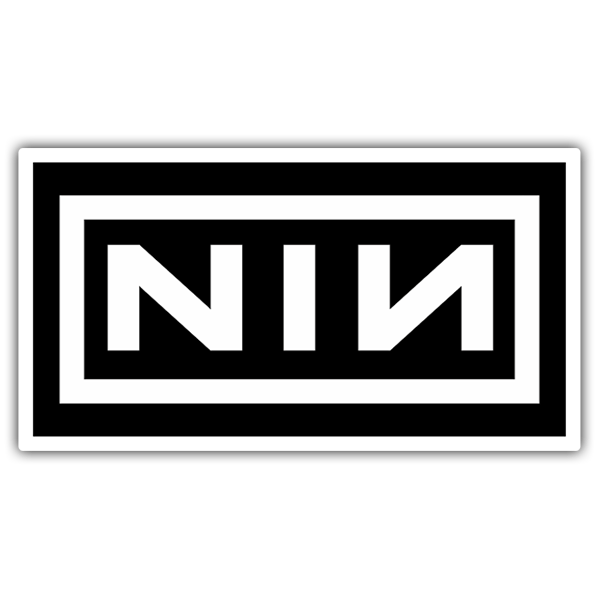 Autocollants: Nine Inch Nails Logo