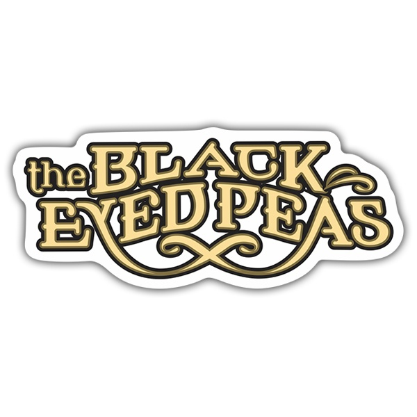 Autocollants: The Black Eyed Peas Logo